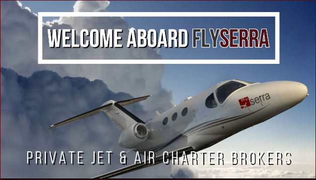 flySerra Private Jet Charters and Air Charters